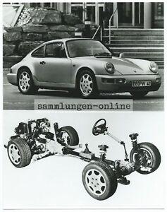 Porsche-Carrera-4-Geplante-Produccion-1989-Foto-Fotografia-Coche-Foto-de-Prensa