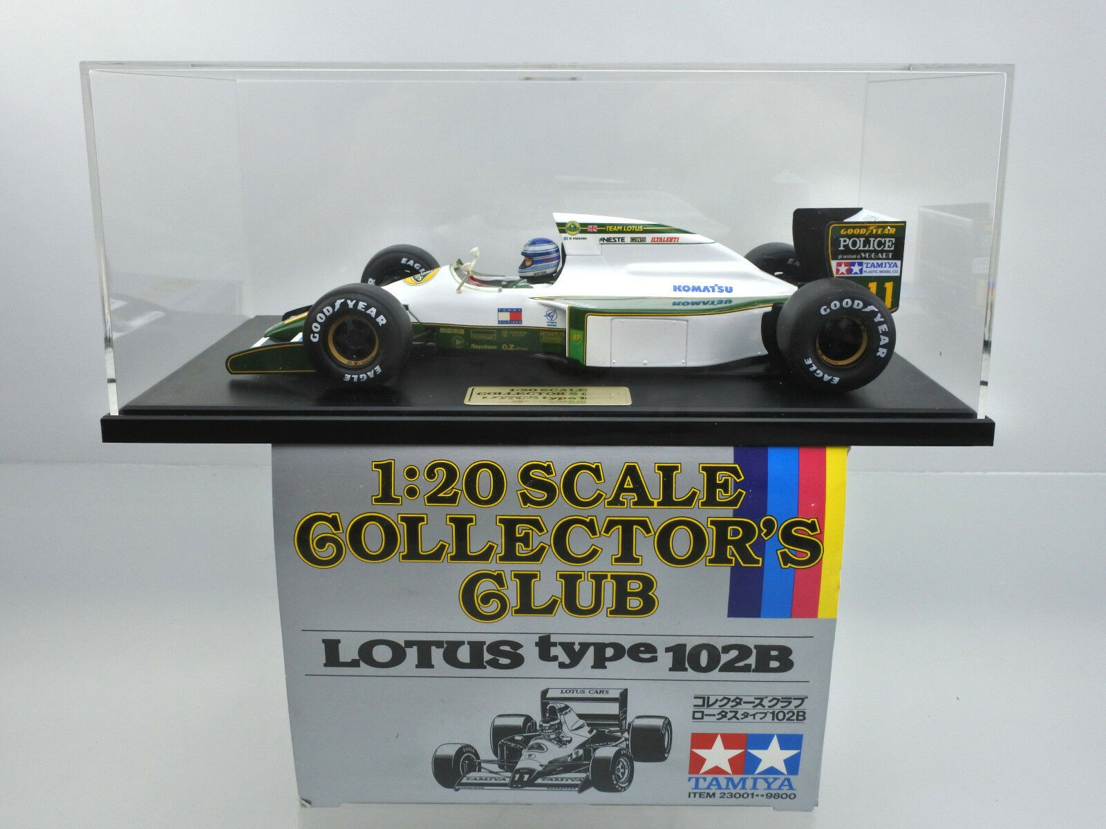 TAMIYA 1 20 SCALE 23001-9800 COLLECTOR'S CLUB LOTUS TYPE 102B