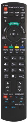 Telecommande pour Panasonic TX32AS520B TX-32AS520B TX32AS520E TX-32AS520E Neuf