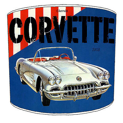 Vintage Car Lampshade Ideal To Match Vintage & Retro Cars Wall Decals & Stickers