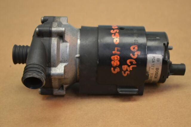 MERCEDES W220 OEM S55 AMG Supercharge Engine Motor Water Cooler Intercooler  Pump