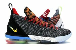 official photos 72ea3 034ab Details about Nike LeBron 16 XVI 1 Thru 5 What The Size 14. BQ6580-900