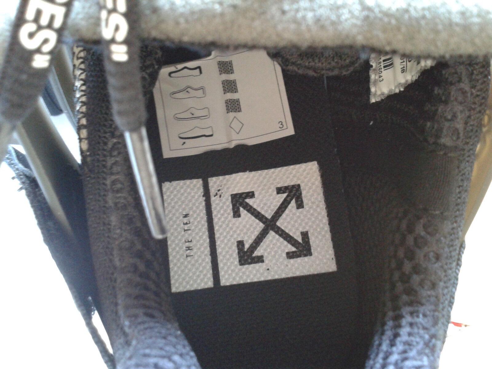 Nike Off bianca Air Presto nero AA3830-002 US 8 nuove nuove nuove con scatola c5e957