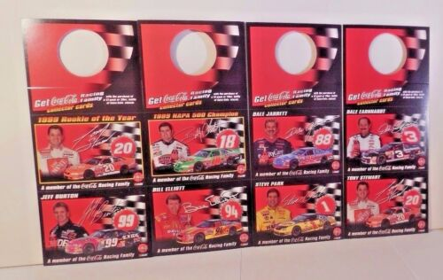 Dale Earnhardt More 2000 NASCAR Coca-Cola Racing Family 16 Card Set Adam Petty