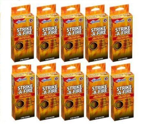 Diamond Strike-a-Fire Strike Match//Fire 10 Pack Box is 80 Fire Starters!