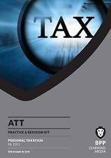 ATT - 1: personal de impuestos (FA 2012): Kit de revisión por los medios de Aprendizaje De BPP