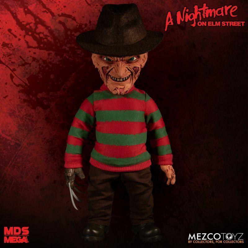 Mezco Toyz Mega Scale Nightmare on Elm St. Freddy Krueger Talking Figure 25890