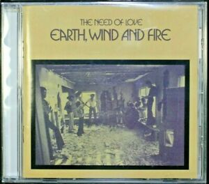 Earth, Wind And Fire – The Need Of Love - Aus Reissue  - New Sealed CD (C1090)