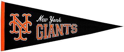 Mlb Baseball New York Giants Mets Banner Großer Wimpel Pennant Heritage Wolle Top Wassermelonen Fanartikel Sport