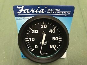 FARIA-INBOARD-MOTOR-TACHO-SKI-WAKE-SPEED-YATCH-ISHING-TRAWLER