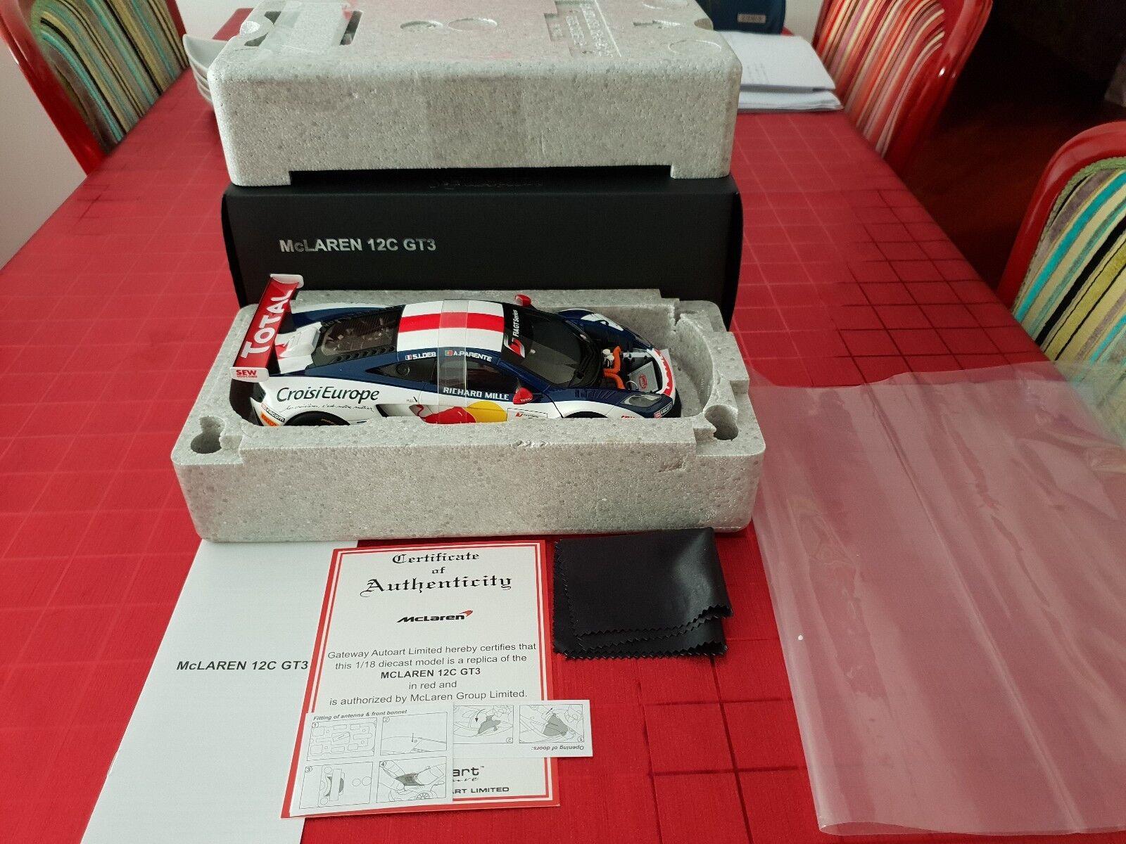 MCLAREN 12C GT3 1 18 AUTOART