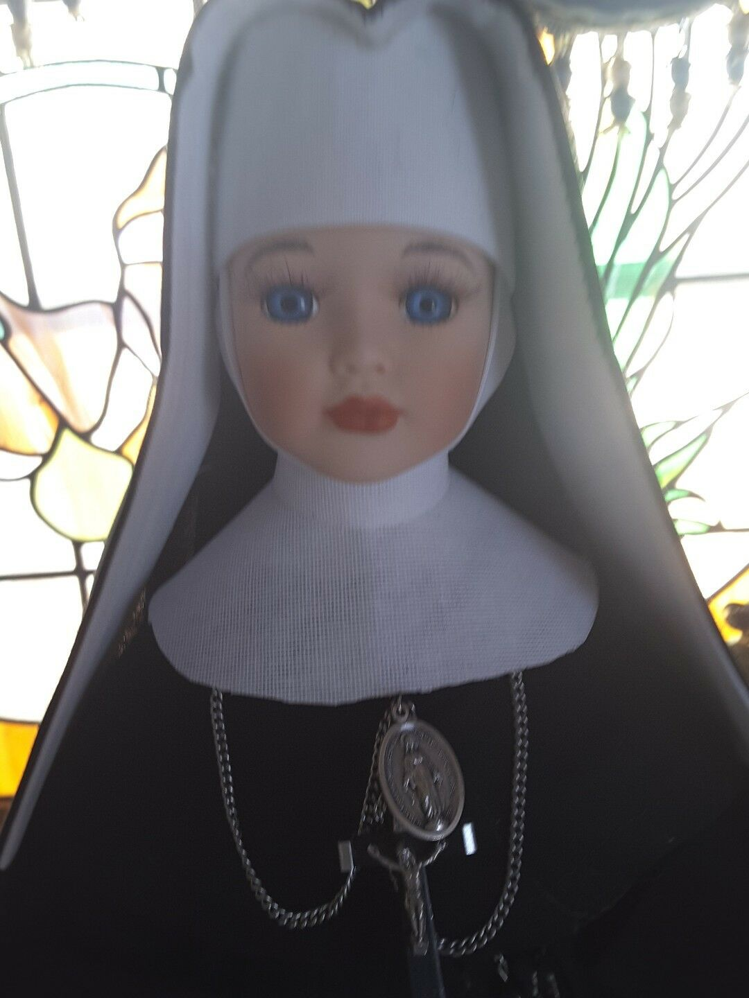 Porcelain doll.nuns.Nuns habits.Nun doll.dolls ( from Balthimore Md.)