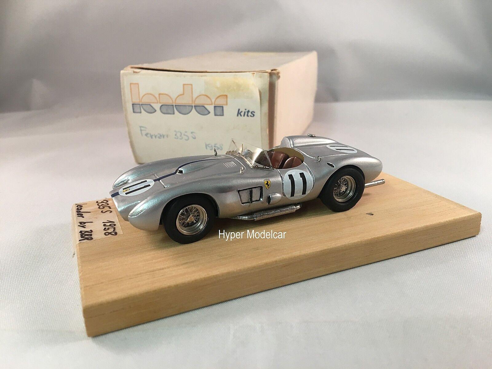 Leader Kits 1 43 By Bbr Ferrari 335 S  11 Riverside 1958
