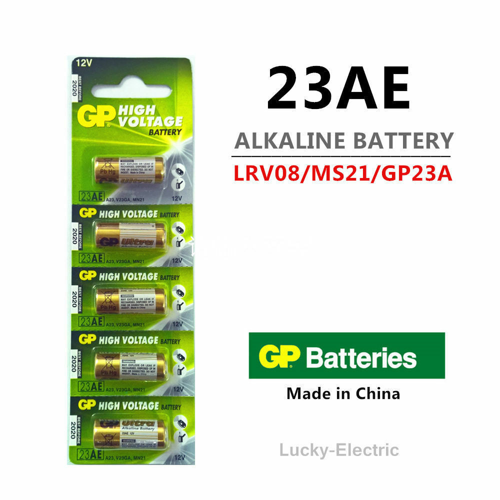 2 x GP Super 23AE 12V Alkaline Battery - Free Shipping