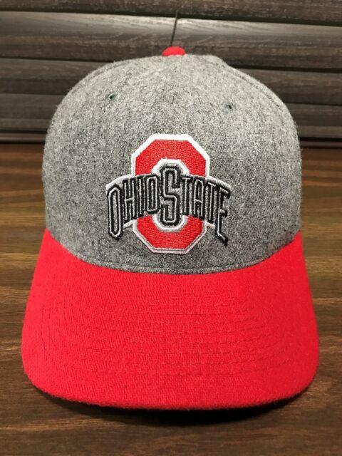 e78c0504b85 Vintage 80 s OSU Ohio State Snapback Hat University Square Buckeyes Cap USA