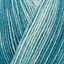 Regia 4-fädig premium Silk color 100g calcetines lana FB 00065 Teal color
