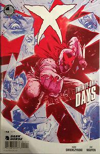 X-12-Twenty-One-Days-NM-1st-Print-Dark-Horse-Comics