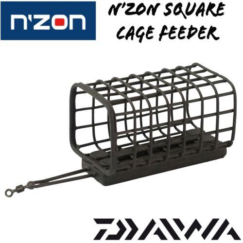Daiwa N'ZON Square Cage Feeder Futterkorb Feederkorb