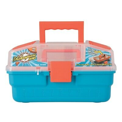 Shakespeare Cosmic Kids Fishing Tackle Box Spin Combos Floating Nets Range