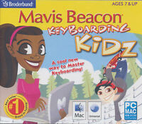 Mavis Beacon Keyboarding Kidz - Typing For Kids - Windows Xp,7,8 & Mac 10.5