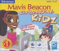 Mavis Beacon Keyboarding Kidz - Typing For Kids - Windows Xp,7,8 & Mac 10.5