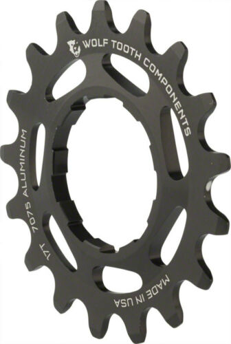 Wolf Tooth Components Single Speed Aluminum Cog 17T Compatible with 3//32 chains