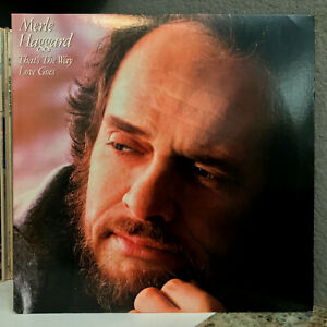 """MERLE HAGGARD - That's The Way Love Goes (Epic FE38815) 12"""" Vinyl Record LP - EX"""