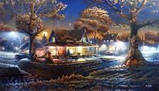 "Terry Redlin ""His First Date""  Print 24"" x 14"""
