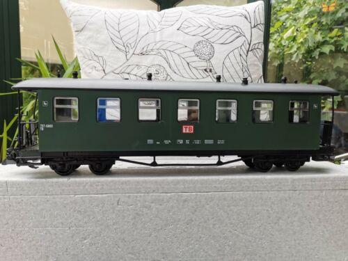 neu,im Karton grün I Für LGB   NEWQIDA  4 achser Personenwagen