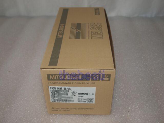 1 PC NEW MITSUBISHI PLC FX2N16MRESUL FX2N-16MR-ES/UL