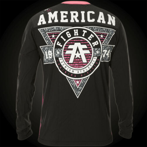 Affliction American By Fighter Charleston zwart Thermal patroon EAAOrFq