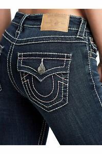 tesa donna a indaco larga Religion Billie stretch True in jersey da Jeans B8UInqT
