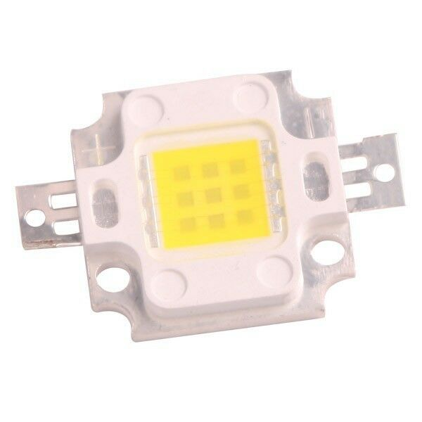 LED de alta potencia de 10W BLANCO FRIO 6500 - 7500K