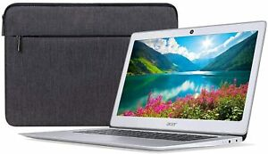 Acer-14-034-QUAD-CORE-Chromebook-Intel-Atom-x5-E8000-4GB-32GB-Protective-Sleeve