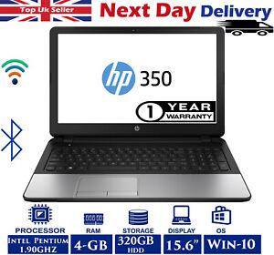 HP-350-G2-15-6-034-Laptop-Intel-Pentium-1-90GHZ-4GB-RAM-320GB-HDD-Windows-10