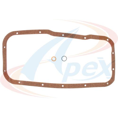 Engine Oil Pan Gasket Set Apex Automobile Parts AOP502