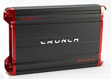 Crunch 1800 Watt 4 Channel Amplifier Car Audio Class A/B Power Amp | PZX1800.4