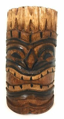 """Hand Carved//Painted#bds1202320 Prosperity Tiki Mask 8/"""""""