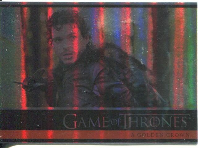 Game Of Thrones Season 1 Parallel Foil Base Card #16