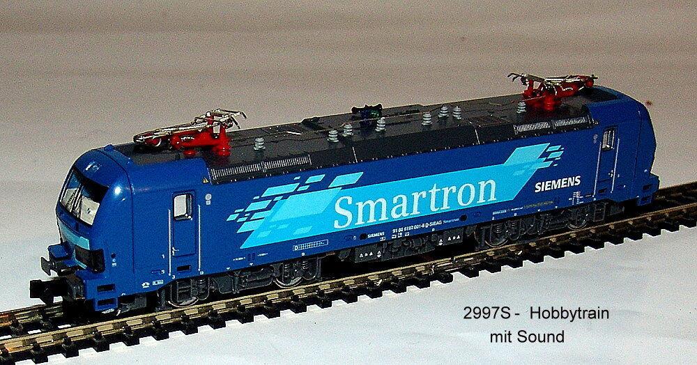 2997 S - E-LOK- BR192 001 - Vectron - Siemens Smartron Epoch Vi - with Sound