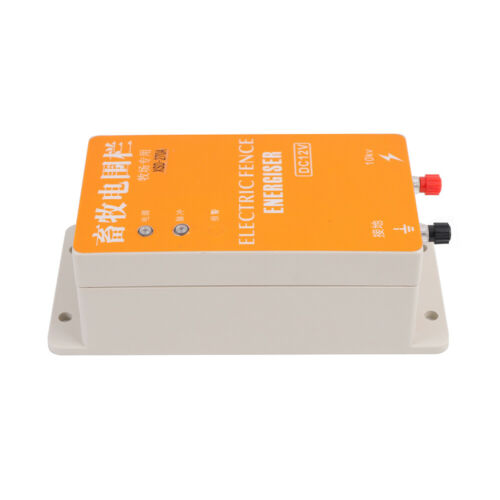 Details about  /Fence Energizer Electric Ranch Charger For Animals Electric Fencing Controller