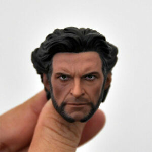 1//6 scale X-Men Wolverine Head Sculpt Hugh Jackman fit 12/'/' Figure Body