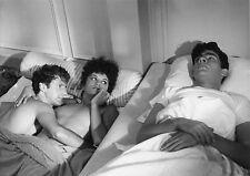 Photo originale Daniel Auteuil Souad Amidou seins nus Bernard Brieux  Lauzier
