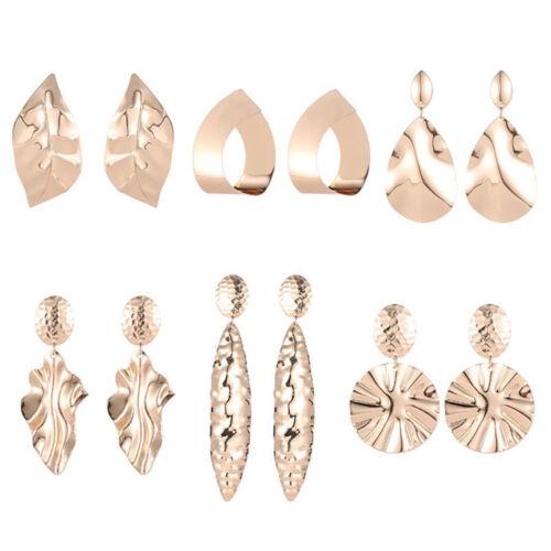Punk Or Métal Dangle Earrings Jewelry 2018 Géométrique Big Drop Earring Nouveau
