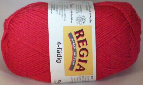 Regia Solids Sock Yarn; Choose Color