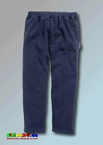 Playshoes-Children-Fleece-Long-Trousers-Pants-in-Navy-and-Sizes-80-to-140-Unisex