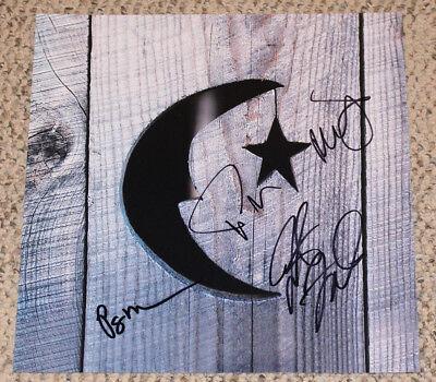 "Faithful Phish Band Signed Authentic ""farmhouse"" Record Album Flat Photo W/coa X4 Trey Records Rock & Pop"