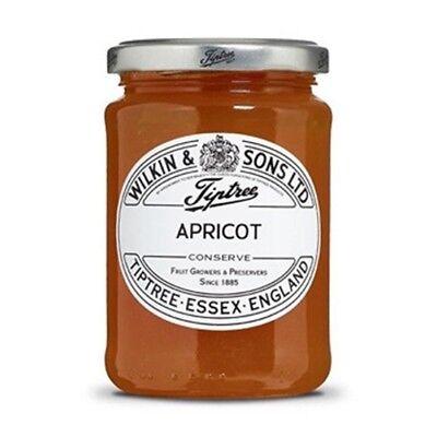 Tiptree Apricot Conserve (2 Jars x340g) Quality English Jam