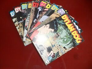 Dylan-Dog-Originali-Prima-Edizione-Sequenza-da-n-81-a-n-90-Q-Edicola-Mai-letti