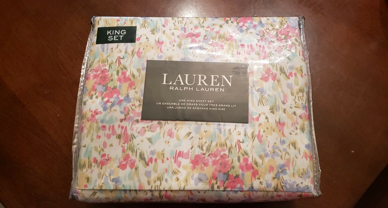 NEW Ralph Lauren LAUREN King Sheet Set